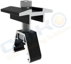 FTM-40B Middle clamp black trapezoid