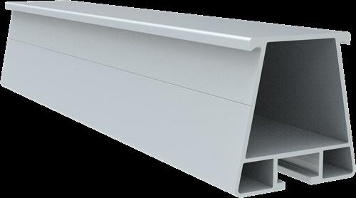 Trapezium Montagerail Blank (L=4200mm)