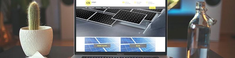 Compri Solar lanceert nieuwe website