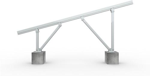 CK-FT-TW-20-35 Alu TW Support structure voor 20/25/30/35 graden